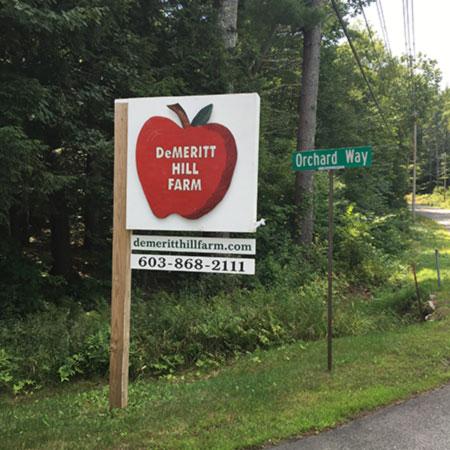 Directions to the Farm - DeMeritt Hill Farm