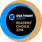 2018 USA Today Readers' Choice Winner (Cider Doughnuts)